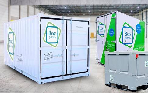 Logistics Box Storage