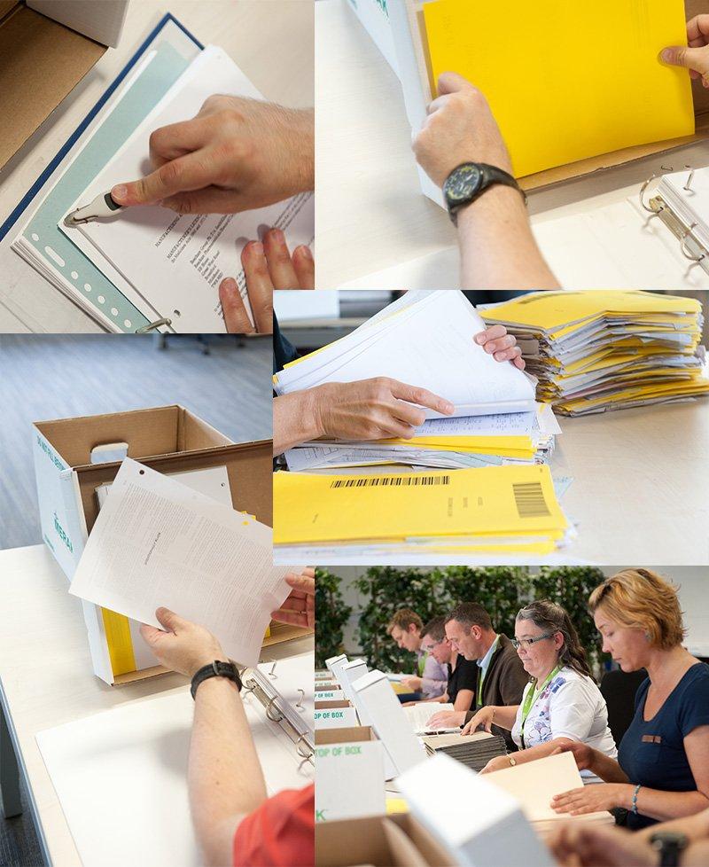 Al uw papieren documenten worden snel, eenvoudig en 100% veilig gedigitaliseerd.