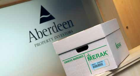 Aberdeen - Gestion d'archives